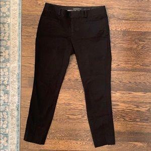 Banana Republic Sloane Black Work Pants, Petite